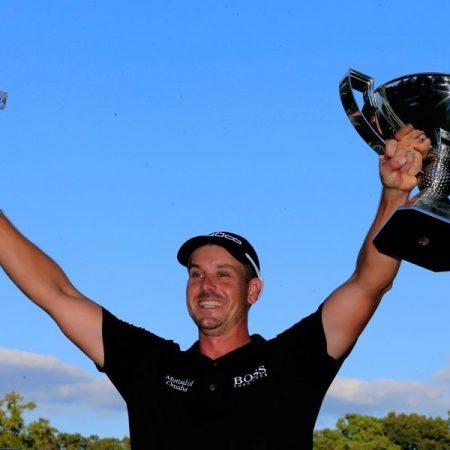 Хенрик Стенсон стал первым гольфистом, выигравшим в одном сезоне два основных трофея