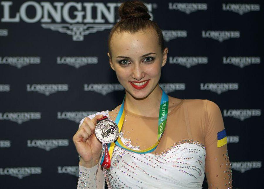 Чемпионка мира по художественной гимнастике Анна Ризатдинова