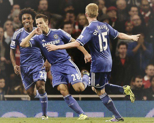Моуринью побеждает в лондонском дерби. «Арсенал» — «Челси» — 0:2. Кубок лиги