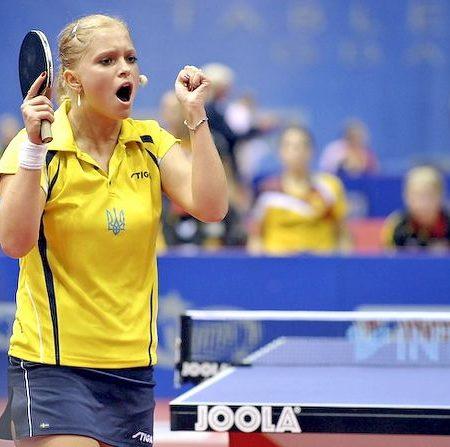 Украинка Маргарита Песоцкая в ТОП-40 Мирового рейтинга настольного тенниса